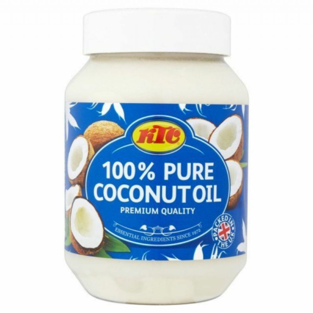 KTC 100% Pure Coconut Oil for Hair, Skin care, Cooking,Oil Pulling,- 500ml